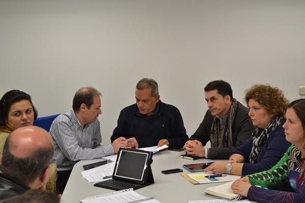 La jornada de trabajo con miembros de las instituciones se celebró el martes. | DA