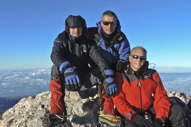 alpinistas Güímar