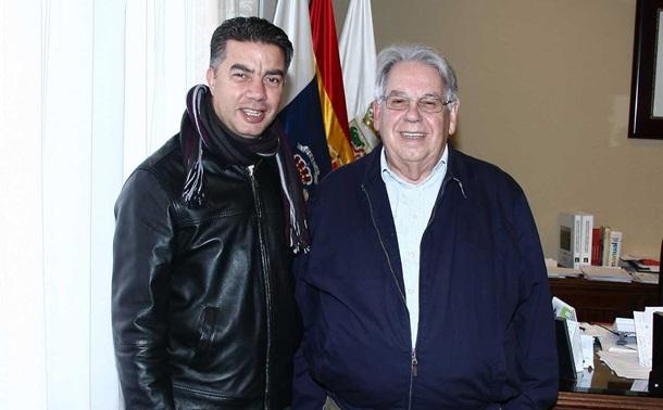 Ramón Miranda y Marcos Brito.