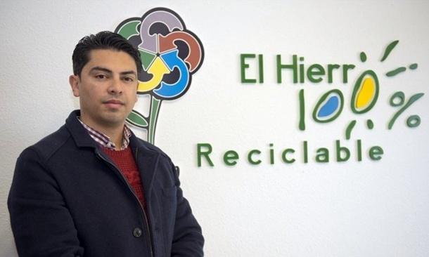 Micheel Angel Acosta consejero El Hierro