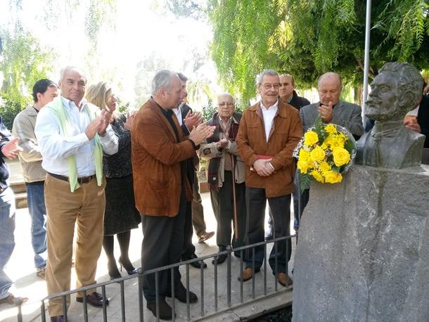 PNC homenaje a Secundino Delgado