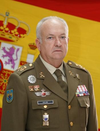 Pedro Galán García Teniente General Mando de Canarias