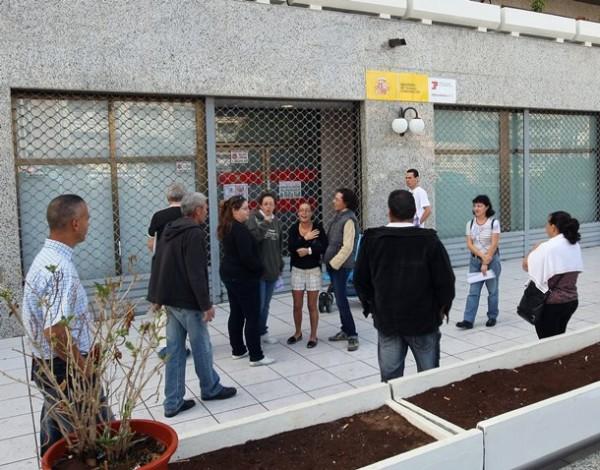 Sede de la Seguridad Social en Los Cristianos.