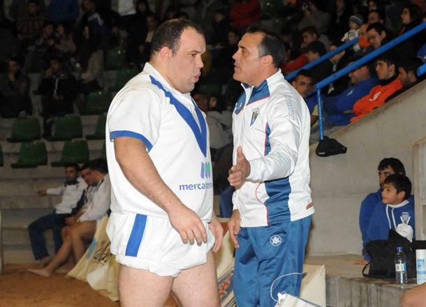 Tegueste MercaTenerife Pedro Hernández y el mandador Ignacio Ramos