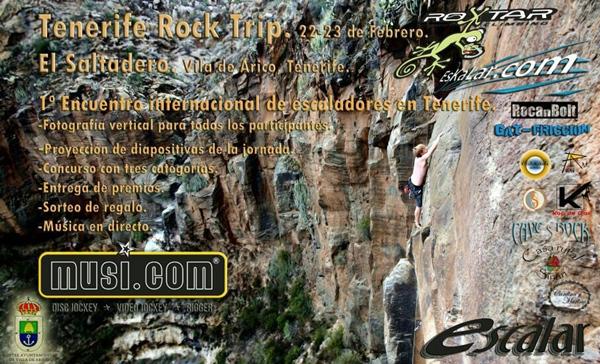Cartel de la Tenerife Rock Trip. | DA