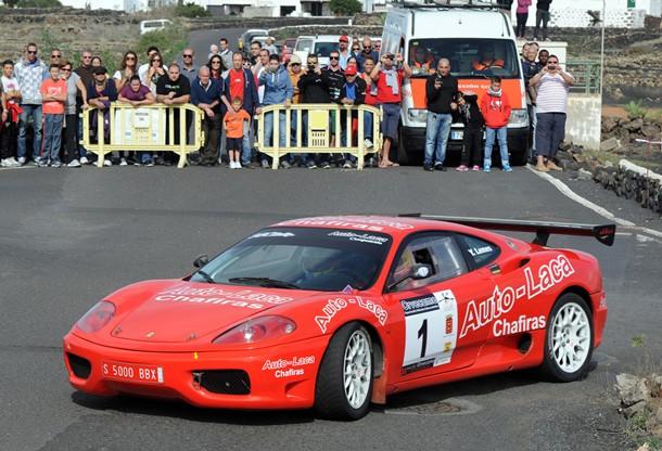 Yeray Lemes Ferrari Auto Laca