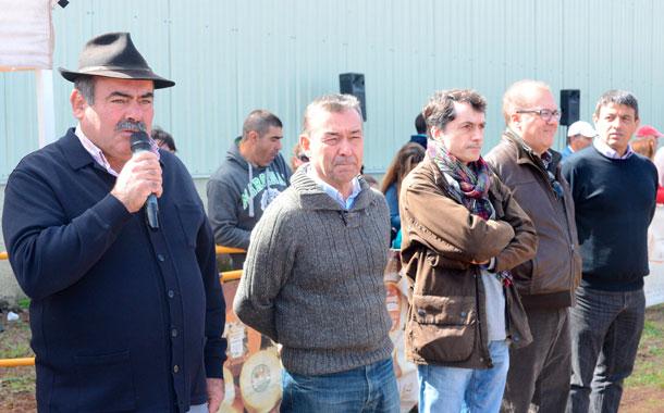 Pedro Molina y Paulino Rivero destacaron el compromiso de la gente que trabaja en el sector primario. / S. M.