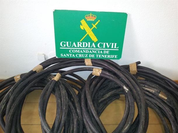 cable de cobre Tacoronte