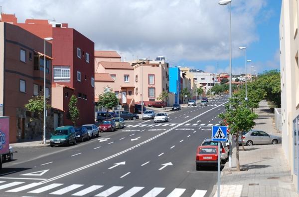 El barrio de La Gallega acoge a las dos promociones públicas del Gobierno de Canarias aún sin adjudicar. | S. M.