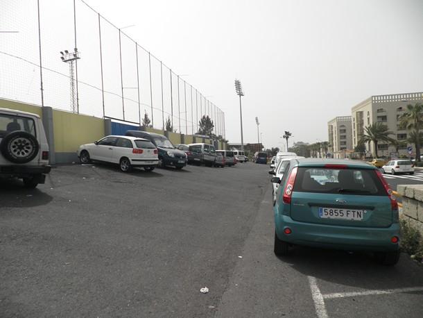 campo de fútbol de Arona