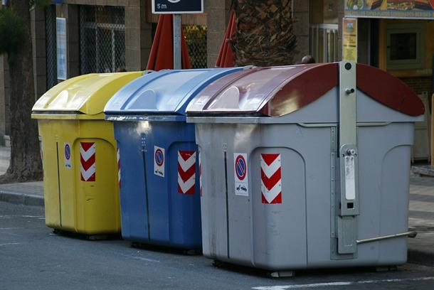 contenedores basura residuos Santa Cruz