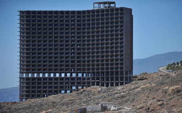 edificio abandonado Añaza