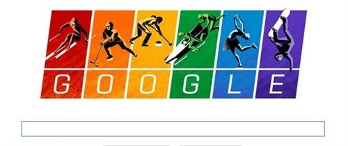 Doodle bandera arcoiris
