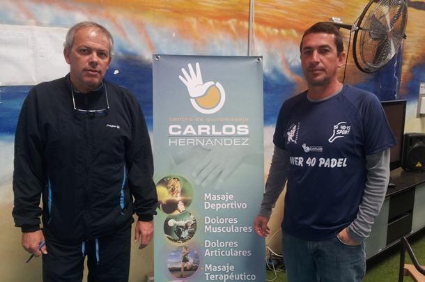 Cristóbal Hernández y José Megolla