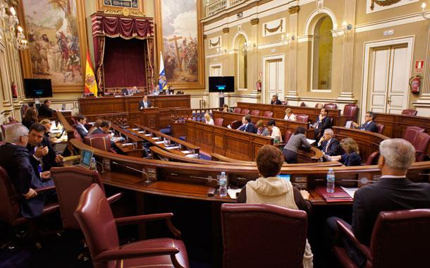 El Parlamento de Canarias