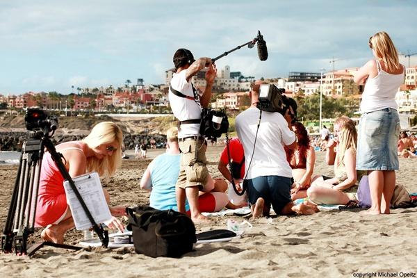 El pasado año se contabilizó en la Isla un total de 373 días de rodaje de diferentes producciones. | DA