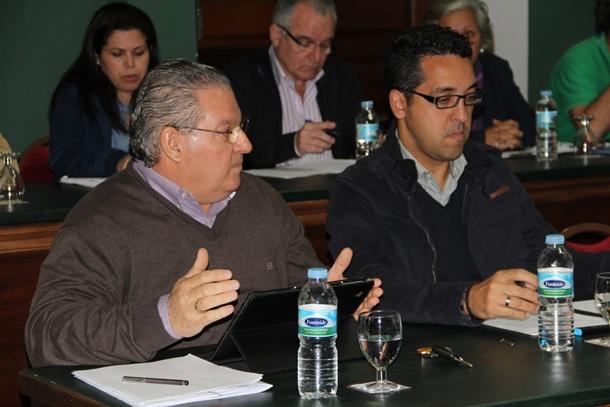 portavoz del PP Adeje Andres Montiel
