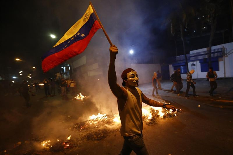 protesta estudiantes venezuela