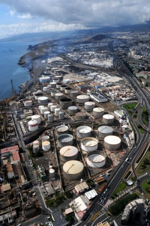 refineria Tenerife refineria Cepsa Santa Cruz
