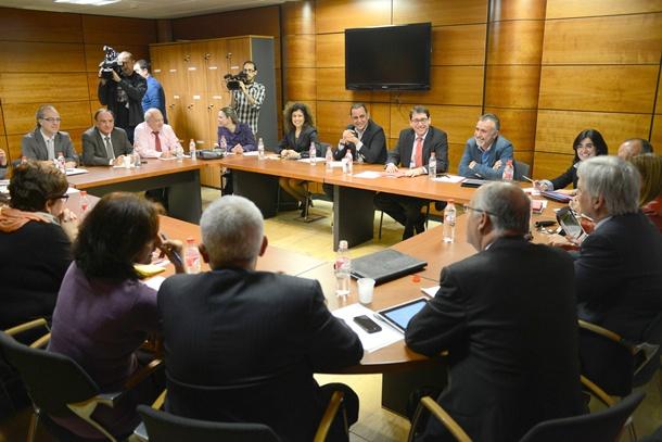 reunion PSOE prospecciones