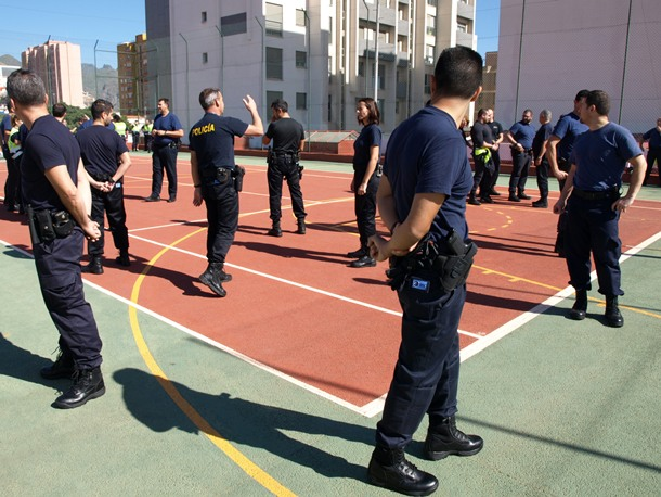 taller actualización las labores de actuación policial