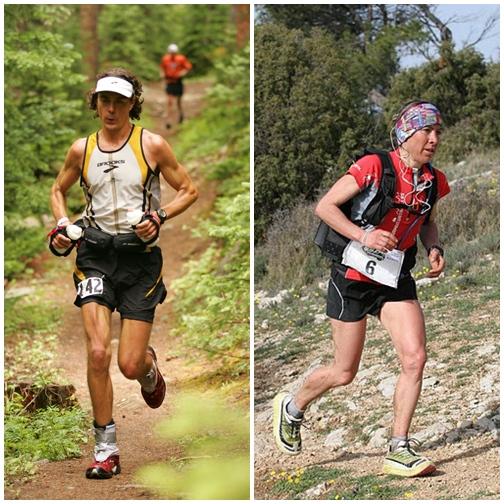El norteamericano Scott Jurek y la italiana Francesca Canepa. | DA
