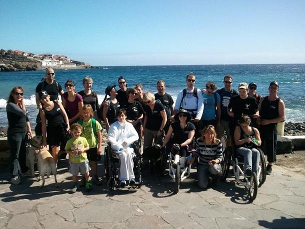 ONG belga U-Turn turistas discapacitados