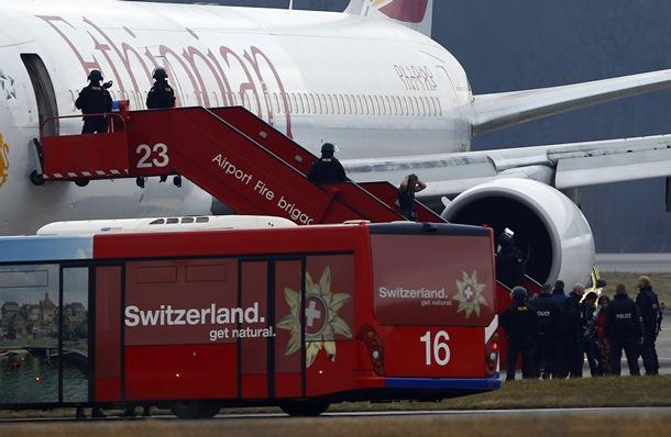 avión de Ethiopian Airlines secuestrado