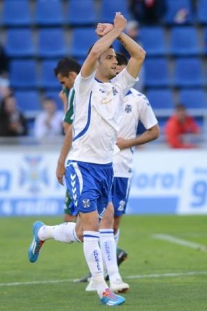 El arafero Édgar logró su primer gol de la temporada. | S.M.