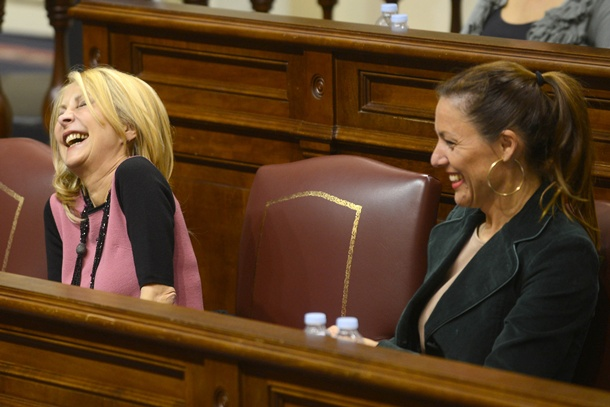 Australia Navarro y Cristina Tavío