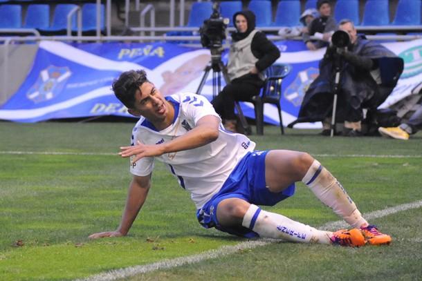 Ayoze Pérez CD Tenerife Zaragoza