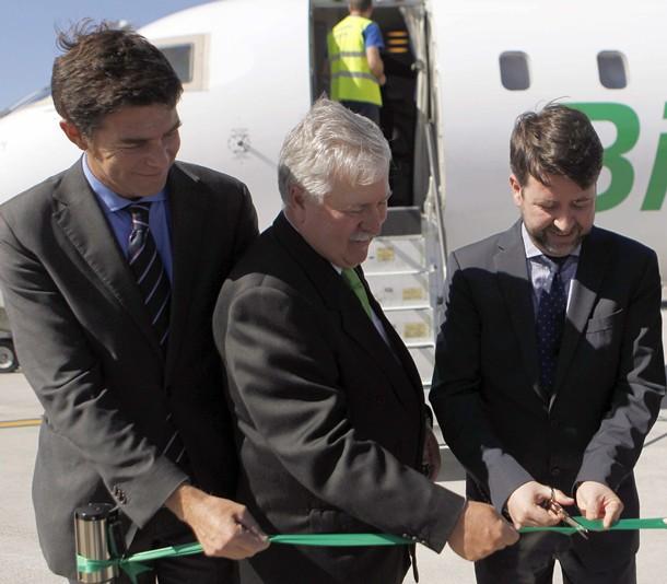 Inauguración de la nueva ruta entre Tenerife Norte y Dakar.