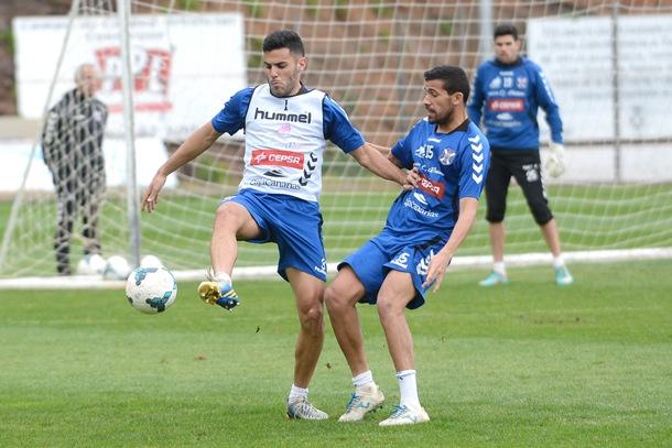Bruno y Alberto entrenamiento CD Tenerife