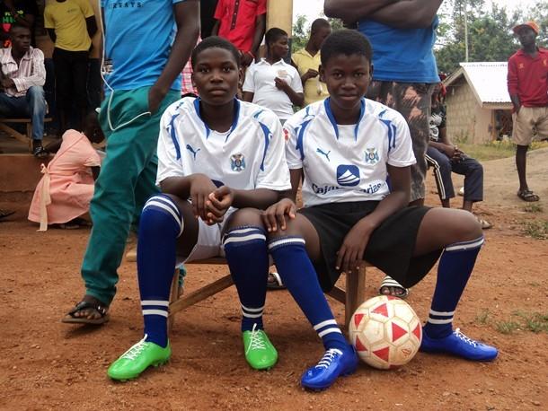 CD Tenerife jovenes de Ghana