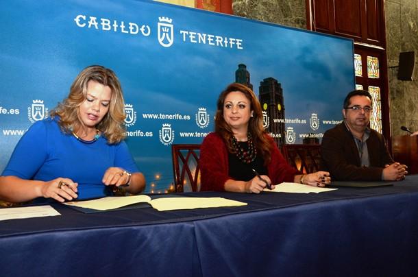 Convenio Cabildo de Tenerife y Colegio Psicólogos para atender a Personas riesgo exclusión social