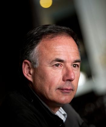 Carlos Bravo, biólogo de la asociación Salvia