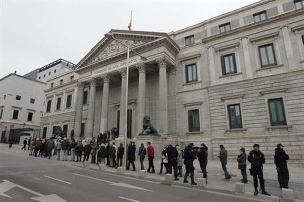 Congreso diputados capilla ardiente Adolfo Suarez