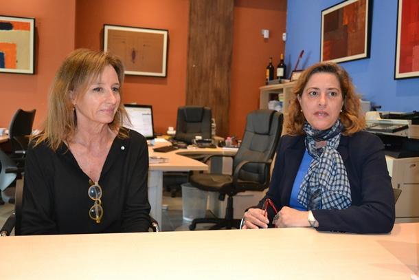Cristina García y Cristina González, trabajadoras de Rea Auditores.