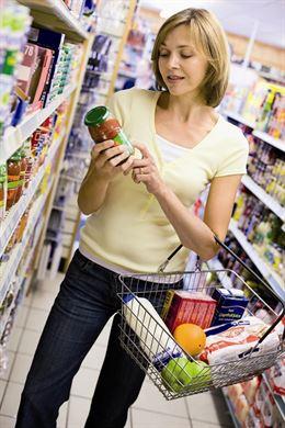 Crean una etiqueta que indica si una comida está en buen estado o no