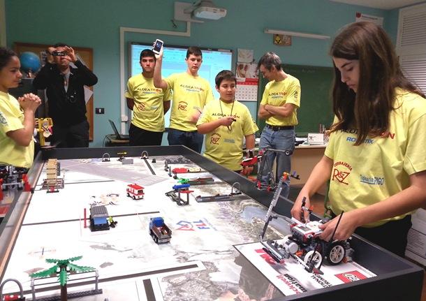 El CEIP Aldea Blanca aspira al europeo de la First Lego League