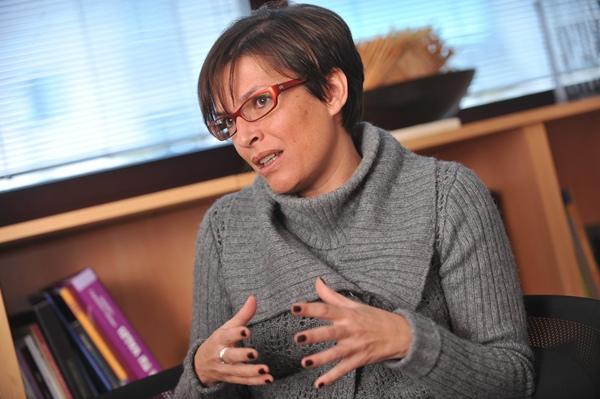 Elena Máñez es la directora del Instituto Canario de Igualdad.   F. PALLERO