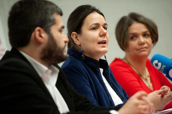 Presentación de la candidata de IU al Parlamento Europeo. | FRAN PALLERO