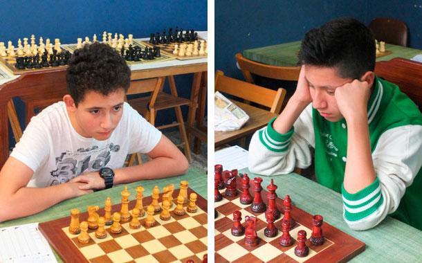 Ethan Rodríguez y Sergio Peña