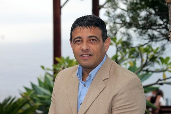 El grancanario Germán Rodríguez, presidente de la Federación Nacional de Lucha Canaria. | NOEMI DE LUIS