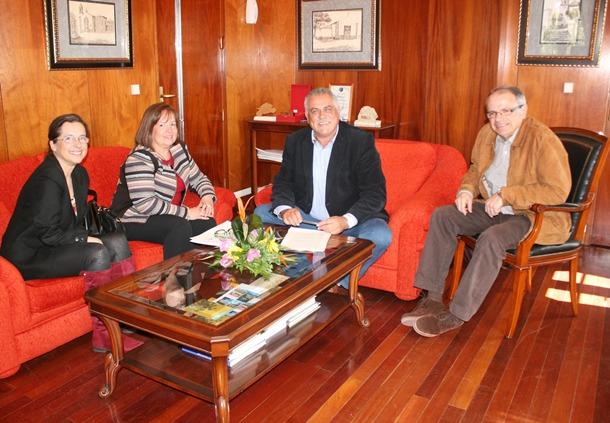 reunión Granadilla y SCS Centro Salud San Isidro