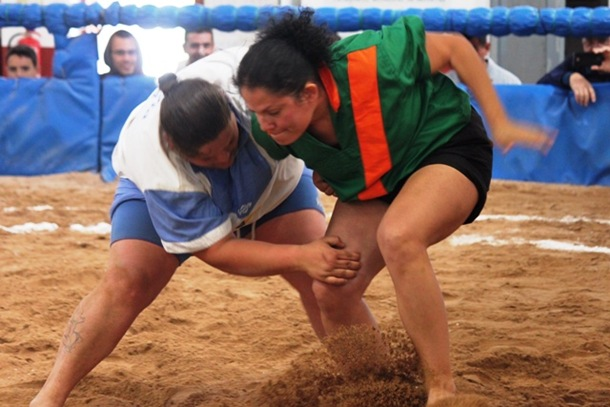 Guamasa Santa Rita lucha canaria femenina