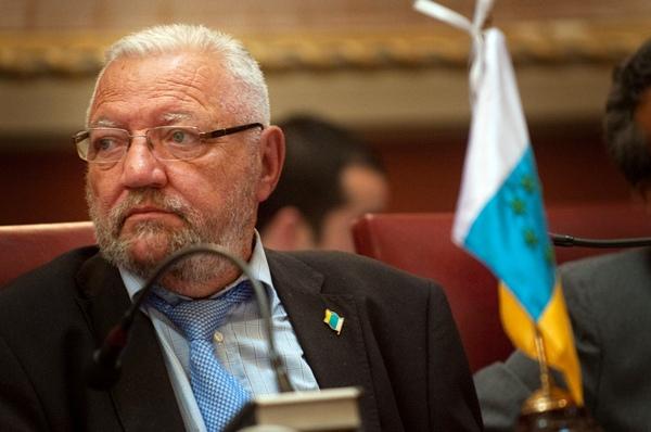 Hilario Rodríguez, concejal de Santa Cruz. | F. PALLERO