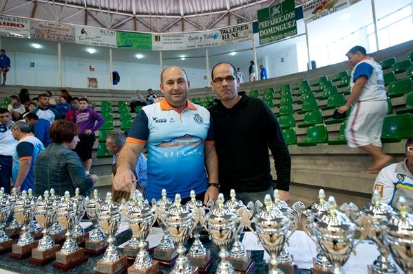 Jeremías Hernández y Lázaro Illada demuestran un enorme cariño por nuestro deporte. | F. P.