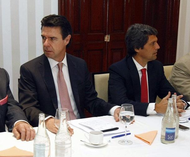 José Manuel Soria y Enrique Herrnández Bento