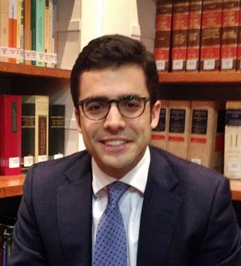 Juan Gonzalo Ospina presidente de Jóvenes Abogados en Movimiento (JAM)